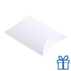 Papieren geschenkdoos klein bedrukken