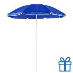Parasol strand blauw bedrukken