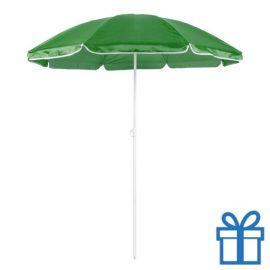 Parasol strand groen bedrukken