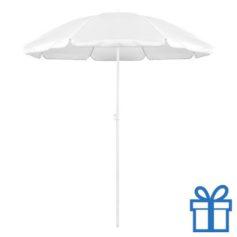 Parasol strand wit bedrukken