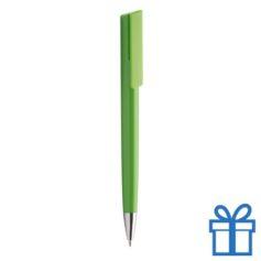 Pen chromen tip groen