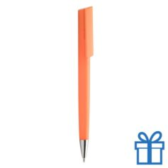 Pen chromen tip oranje