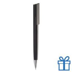 Pen chromen tip zwart