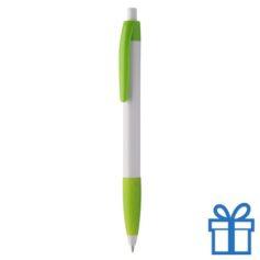 Pen gekleurde clip plus grip groen