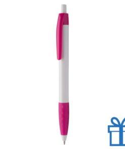 Pen gekleurde clip plus grip roze