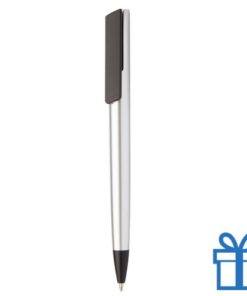 Pen metalen afwerking zilver