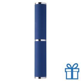Pennenkoker blauw