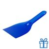 Plastic ijskrabber goedkoop blauw bedrukken