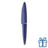 Plastic mini balpen blauw
