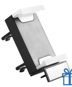 Plastic mobiele telefoonhouder wit bedrukken