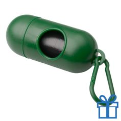Poepzakhouder groen bedrukken