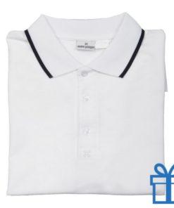 Poloshirt andré philippe XXL wit bedrukken