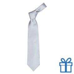 Polyester stropdasplastic hanger grijs bedrukken