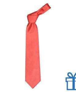 Polyester stropdasplastic hanger rood bedrukken