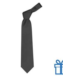 Polyester stropdasplastic hanger zwart bedrukken