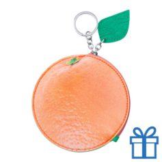 Portemonnee sinaasappel bedrukken