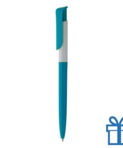 Promotie pen inlay blauw