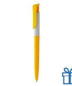 Promotie pen inlay geel