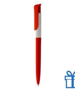 Promotie pen inlay rood