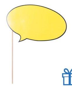 Props spraakbubbel bedrukken