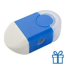 Puntenslijper gum in 1 blauw