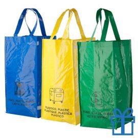 Recycling tassen 3 bedrukken