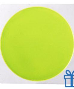 Reflecterende sticker rond bedrukken
