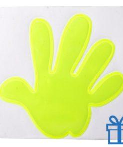 Reflector sticker hand bedrukken