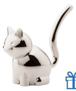 Ringhouder kat  bedrukken