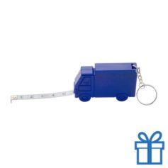 Rolbandmaat vrachtauto 1m blauw bedrukken