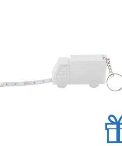 Rolbandmaat vrachtauto 1m wit bedrukken
