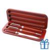 Rozenhoutkleur pennenset