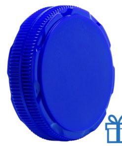 Schoenensmeer opvouwbaar blauw bedrukken