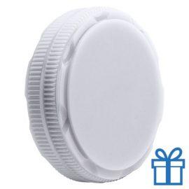 Schoenensmeer opvouwbaar wit bedrukken