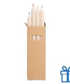 Set potloden duurzaam doosje bedrukken