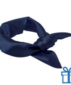 Sjaal dames navy bedrukken