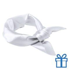 Sjaal dames wit bedrukken