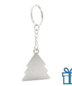 Sleutelhanger kerstboom doming bedrukken