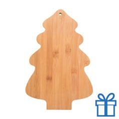 Snijplank kerstboom bamboe bedrukken
