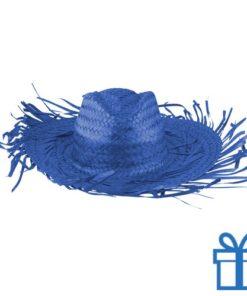 Sombrero blauw bedrukken