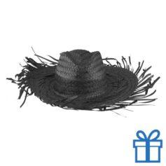 Sombrero zwart bedrukken