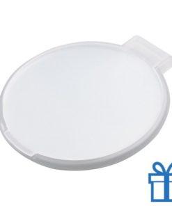 Spiegeltje rond wit bedrukken