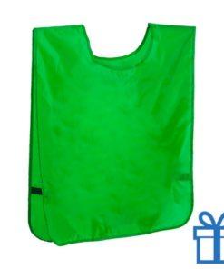 Sport vestje neon groen bedrukken