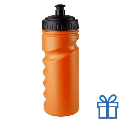Sportfles bidon goedkoop 500ml oranje bedrukken