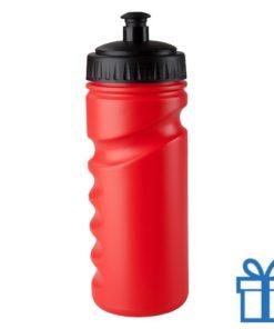 Sportfles bidon goedkoop 500ml rood bedrukken