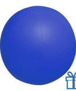 Strandbal goedkoop blauw bedrukken