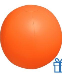 Strandbal goedkoop oranje bedrukken