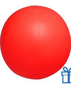 Strandbal goedkoop rood bedrukken