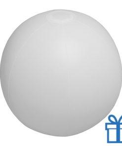 Strandbal goedkoop wit bedrukken