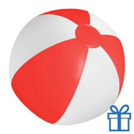 Strandbal goedkoop wit rood rood bedrukken